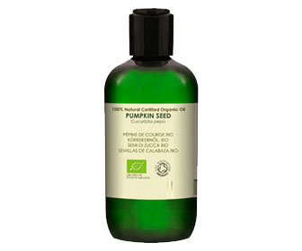 aceite de semillas calabaza biológico y de cultivo orgánico