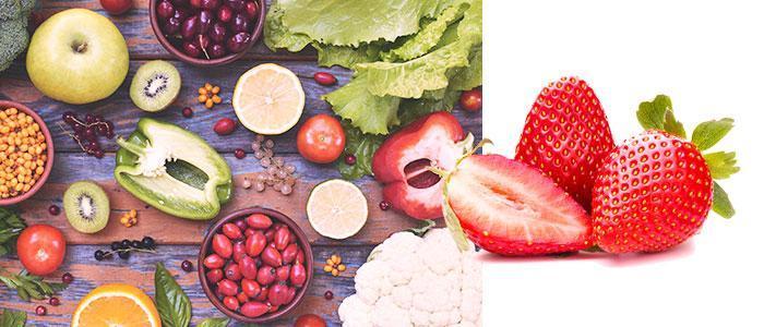 Ácido ascórbico en alimentos