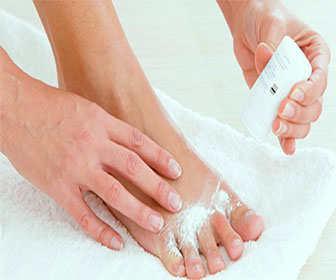 acido borico para eliminar el olor de pies