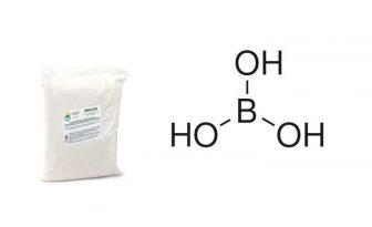 acido borico polvo