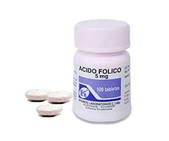 acido folico infertilidad