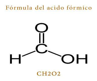 acido formico formula y estructura quimica