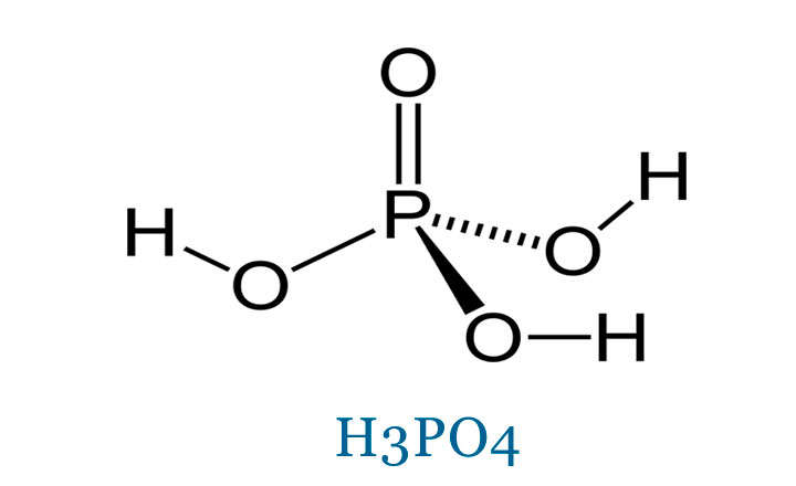 Formulación del acido fosforico