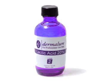acido lactico en cosmetica