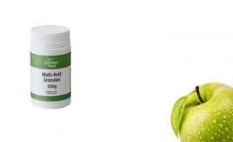 acido malico manzana