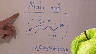 acido malico propiedades