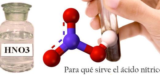 Qué es el ácido nítrico y para qué sirve