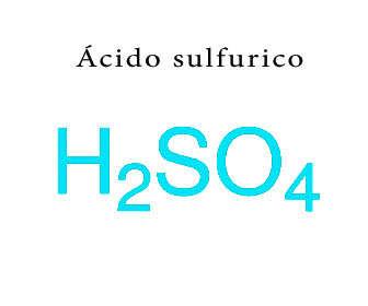 acido sulfurico formulacion