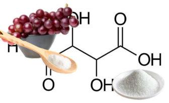 Propiedades del ácido tartárico y usos en alimentos, cosmética y vino