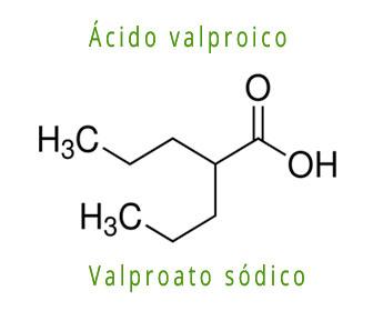 acido valproico mecanismo accion y estructura química