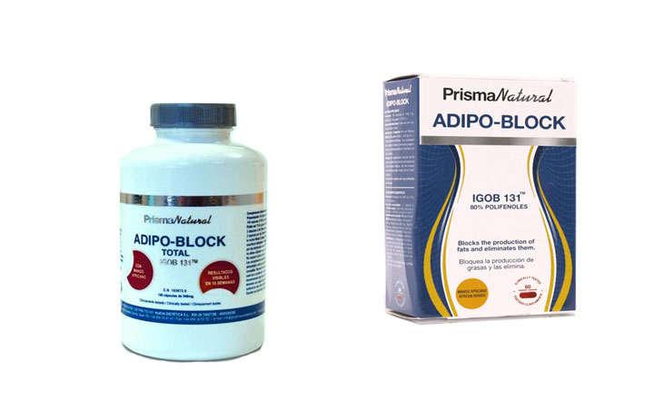 Adipo Block Total, Depur y Burner, composición y forma de