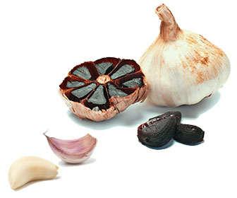 Diferencas entre el ajo morado y negro