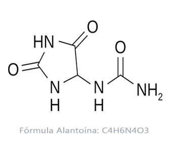 alantoina formula estructura química