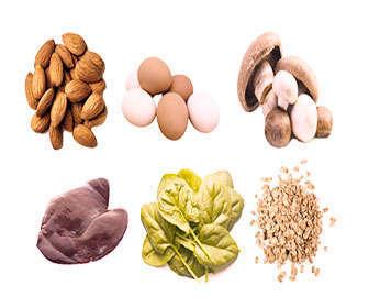 alimentos ricos vitamina b2