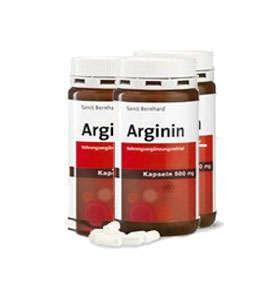 arginina capsulas 500 mg