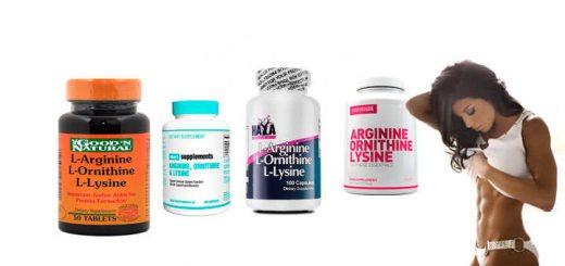arginina ornitina lisina
