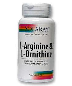 arginina ornitina solaray