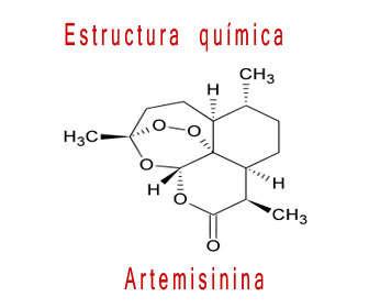 artemisinina estuctura química