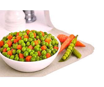 Beneficios de tomar arvejas frescas y cocinadas