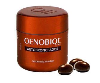 contraindicaciones del autobronceador oenobiol