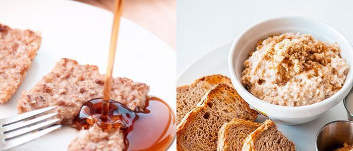 Receta de tostada de avena