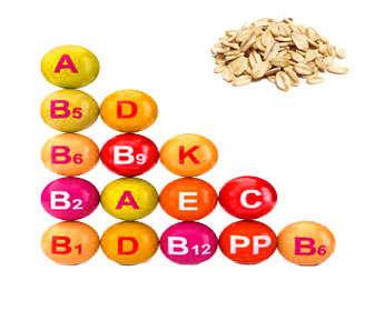 vitaminas de la avena con manzana