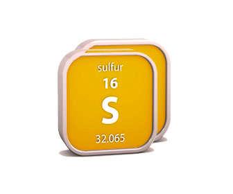 azufre simbolo y masa atomica en la tabla periodica