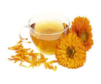 Para que sirve el té de caléndula