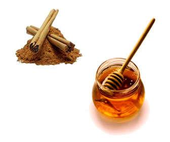 miel y canela para el cabello