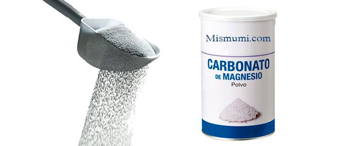 Propiedades y beneficios del carbonato de magnesio