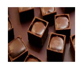 bombones de chocolate con leche