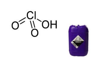 acido clorico formula