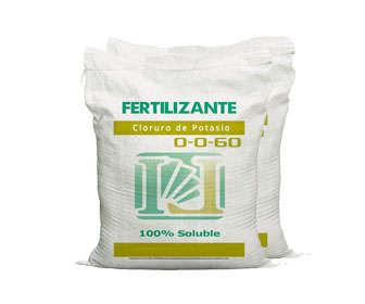 cloruro de potasio como fertilizante