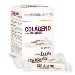 colageno con magnesio en sobres