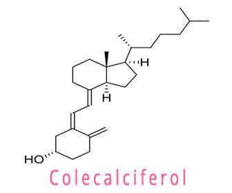 colecalciferol estructura quimica
