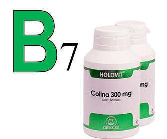 beneficios de colina vitamina b7