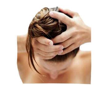 como poner mascarilla pelo seco
