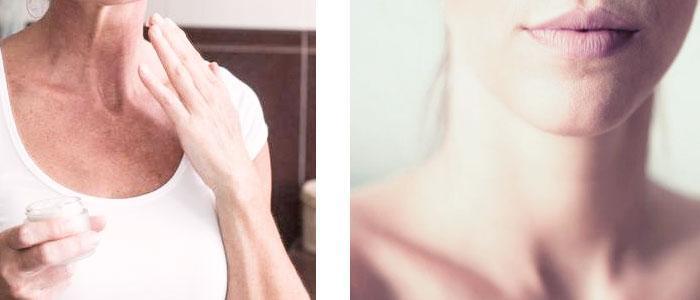 Cómo quitar o eliminar arrugas en el escote y cuello