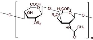 condroitin sulfato estructura