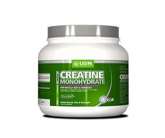 creatina monohidratada en polvo
