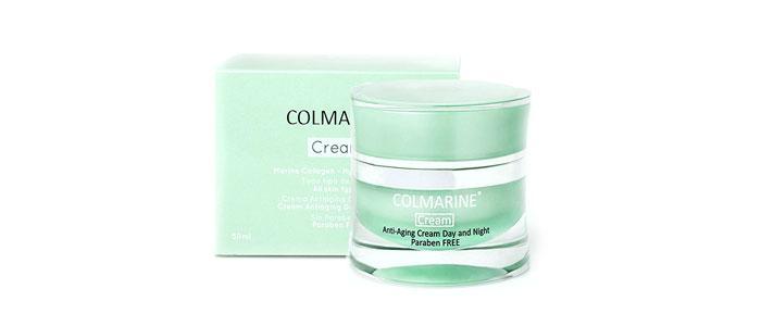 Crema con ácido hialurónico, colágeno y elastina