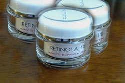 Crema para la cara con retinol A