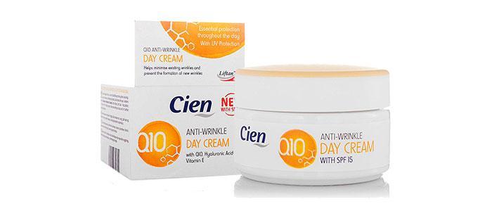 Cremas antiarrugas Lidl Cien Q10