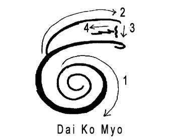 Dai Ko Myo símbolo