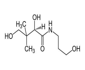 dexpantenol estructura quimica