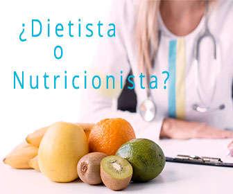 diestista o nutricionista, diferencias y funciones