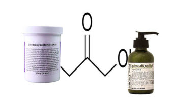 dihidroxiacetona que es, propiedades