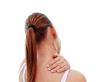 dolor de cuello y contracturas por nervios