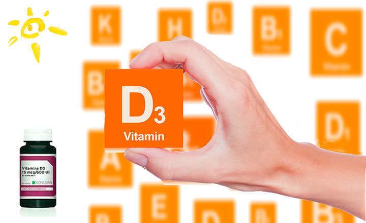 Dónde se encuentra la vitamina D3
