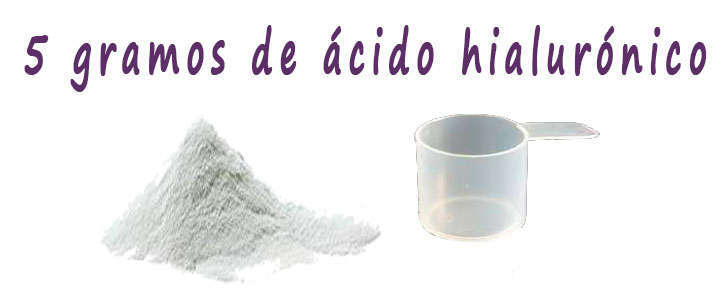 Dosis de ácido hialurónico